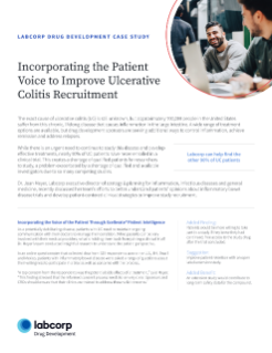 Incorporating the Patient Voice to Improve Ulcerative Colitis Recruitment