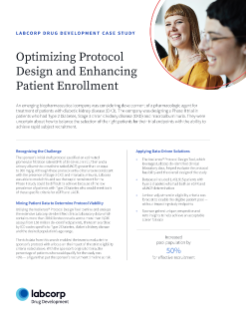 Optimizing Protocol Design and Enhancing Patient Enrollment