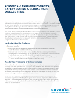 Case Study: Rare Disease Pediatric Trial and Patient Safety