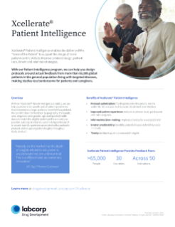 Xcellerate® Patient Intelligence